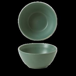 Churchill Andorra Green Contour Snack Bowl 13x6.3cm
