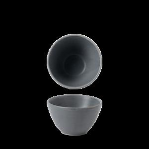 Churchill Seattle Grey Contour Deep Bowl 10.2x5.9cm