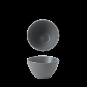 Churchill Seattle Grey Contour Dip Pot 8.3x4.8cm