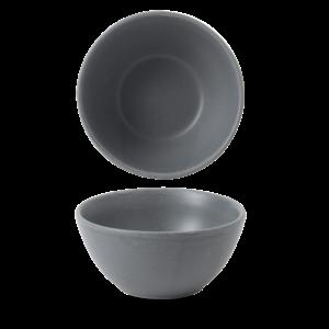 Churchill Churchill | Nourish Seattle Grey Contour Snack Bowl 13x6,3cm