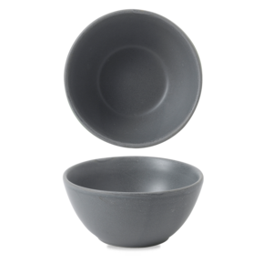 Churchill Seattle Grey Contour Snack Bowl 13x6.3cm
