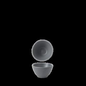Churchill Seattle Grey Contour Dip Pot 6.9x4cm