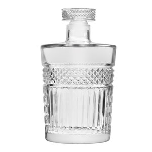 Libbey Radiant Decanter with glass stopper 1 liter 1/box