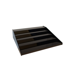 Non Food Company Bottle Stair black 5 steps