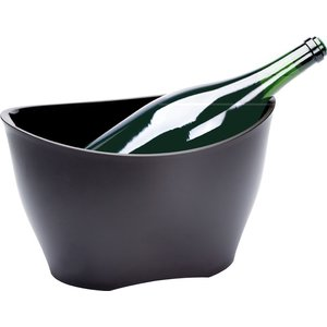 Non Food Company Ice Bucket frosted black 40*29,5 cm H 25 cm 13,5 L
