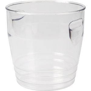 Non Food Company Ice Bucket Clear Plastic 22*22 cm 6 L