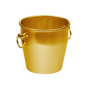 Non Food Company Ice Bucket Gold