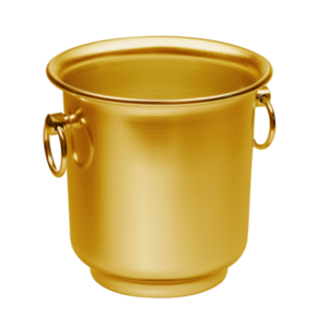 Non Food Company Ice bucket gold 21 cm