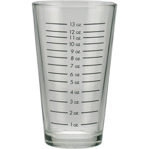 Non Food Company Mixing Glass with Ounce Markings 473 ml OUTLET