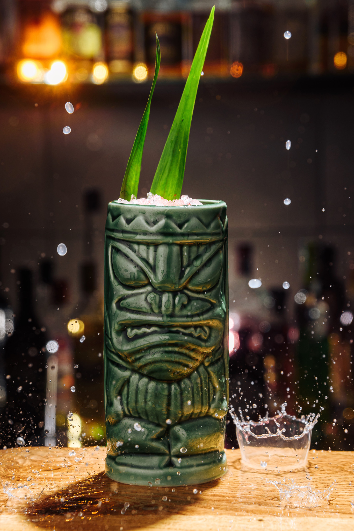Tiki glazen voor Cocktails