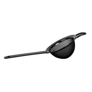 Non Food Company Fine Strainer Gun Metal L23 * B8 * H5,6cm