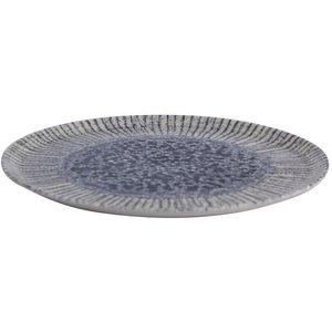 Porland Porland | Iris  Blue Plat Bord 28cm