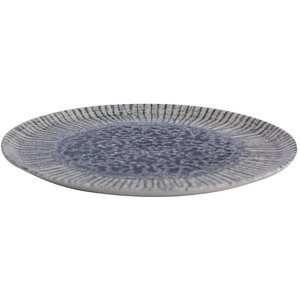 Porland Porland | Iris  Blue Plat Bord 32cm