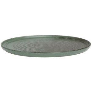 Porland Porland | Lykke Green Bord Opstaande Rand 27cm