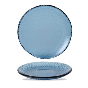 Churchill Servies Isla Organic Glass Trace Oval Platter 30x16.2cm