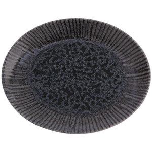 Porland Porland | Iris Oval Plate 21cm