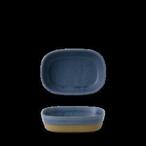 Churchill Emerge Oslo Blue Dish 17x12x5cm