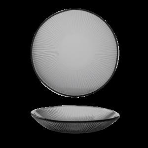 Churchill Bamboo Organic Glass Round Bowl 24,5cm