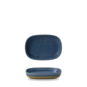 Churchill Servies Emerge Oslo Blue Tray  17x11,7x3,3cm