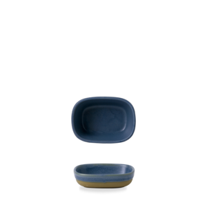 Churchill Servies Emerge Oslo Blue Tray  12x9x3,3cm