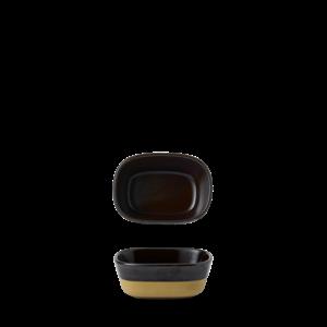 Churchill Emerge Cinnamon Brown Dish 12x9x5cm