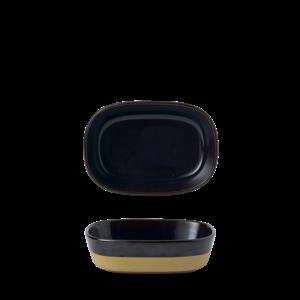 Churchill Emerge Cinnamon Brown Dish 17x12x5cm