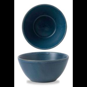 Churchill Oslo Blue Contour Snack Bowl 13x6.3cm