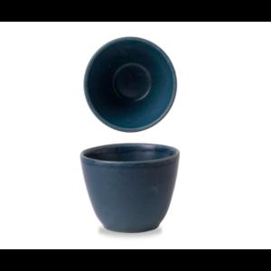 Churchill Oslo Blue Contour Chip Mug 7.5x9.9cm
