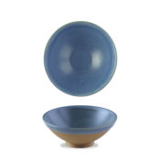 Churchill Emerge Oslo Blue Footed Bowl  100cl