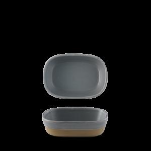 Churchill Seattle Grey Dish 17.3x11.9x5cm
