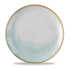 Churchill Stonecast Accents Duck Egg Evolve Coupe Plate  28.8cm