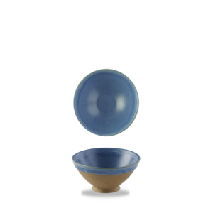 Churchill Emerge Oslo Blue Footed Bowl  70cl