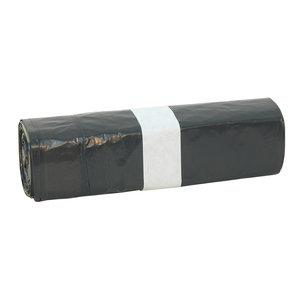 Non Food Company Hygiëne Products Afvalzak LDPE met Trekband, Zwart T25 20 zakken/25 rollen