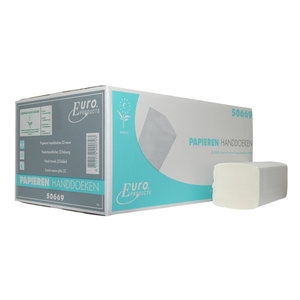 Non Food Company Hygiëne Products Euro | Handdoekpapier Euro  Z-fold CEL 2L / 16 x 199 St.