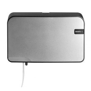 Non Food Company Presentatiepoint Quartz Silver | Duo Toiletrolhouder, Toiletpapier, max ø15cm