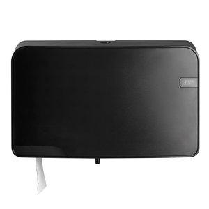 Non Food Company Hygiëne Products Quartz Black | Mini Duo Jumbo Toiletrolhouder