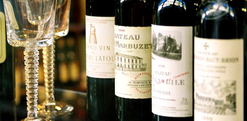 Oude wijnen uit een wijnkelder