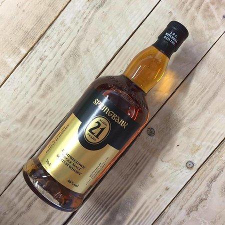 Springbank Distillery Springbank 21Y 46%