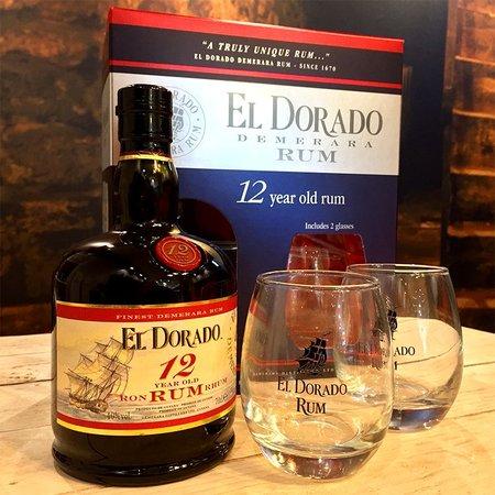 Demerara Distillers LTD El Dorado 12Y Gift Pack