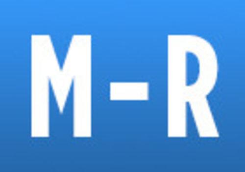 M -> R