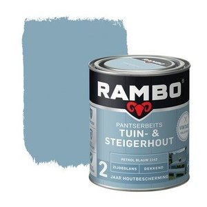 Rambo Tuin - & Steigerhout 750 ml Petrol Blauw 1142