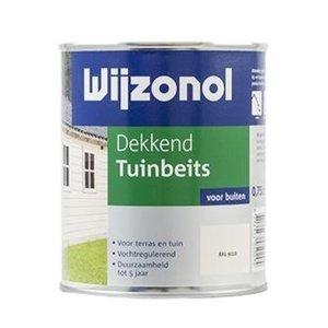 Wijzonol Dekkend Tuinbeits 750ml RAL 9010