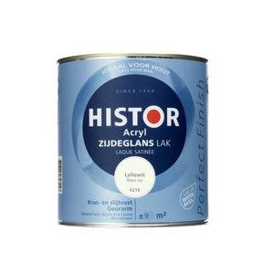 Histor Acryl Zijdeglans Lak 750 ml Leliewit