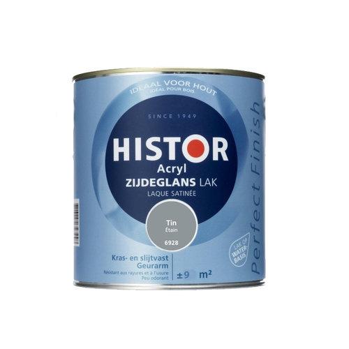 Histor Acryl Zijdeglans Lak 750 ml Tin