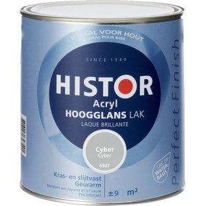 Histor Acryl Hoogglans Lak 750 ml Cyber
