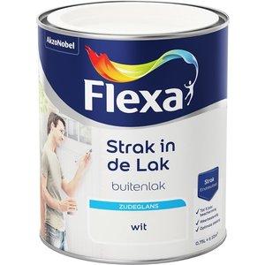 Flexa Strak in de Lak Buitenlak Zijdeglans 750 ml Wit