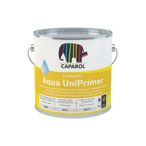 Caparol 2,5ltr Caparcryl Aqua UniPrimer - Wit
