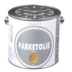 Hermadix Parketolie eXtra 2,5 liter Castle Grey