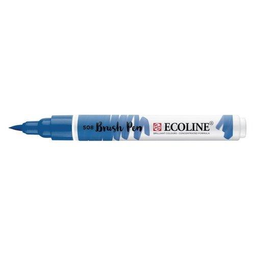 Royal Talens Ecoline Brushpen Pruisisch Blauw