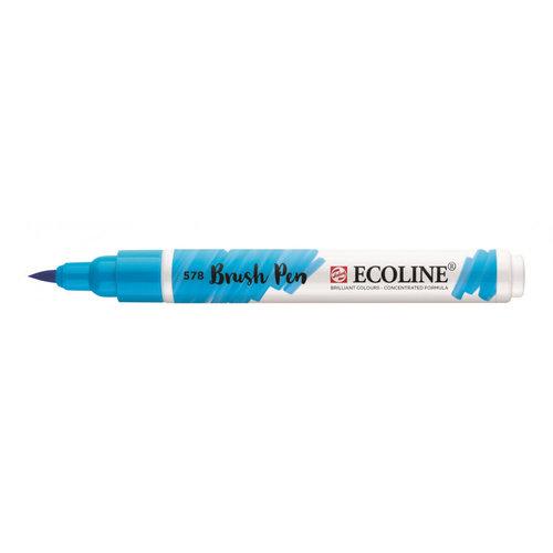 Royal Talens Ecoline Brushpen Hemelsblauw Cyaan